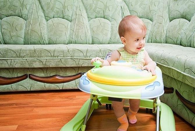 Penggunaan Baby Walker Ternyata Berbahaya