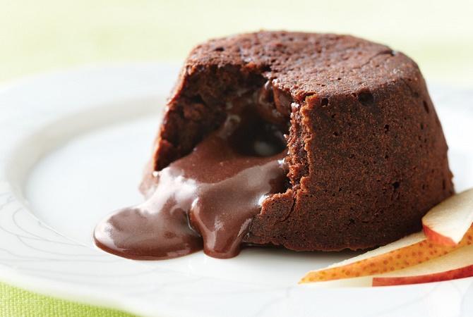 Yuk Moms Bikin Chocolate Lava Cake