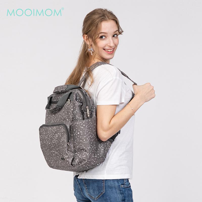 MOOIMOM Fashionable Diaper Bag