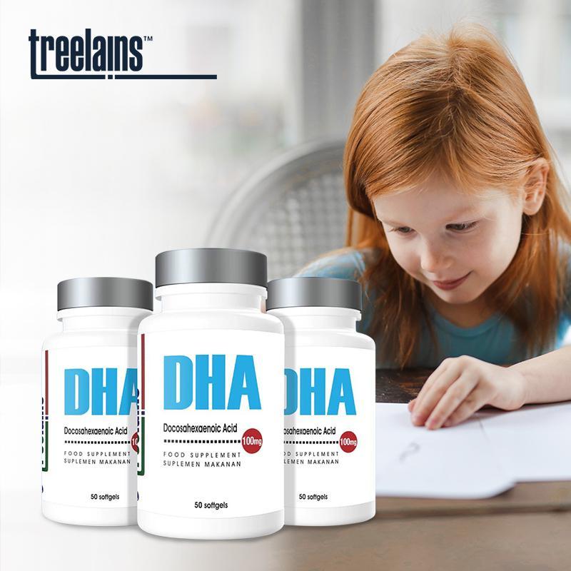 Treelains Vitamin DHA 100mg 50 pcs