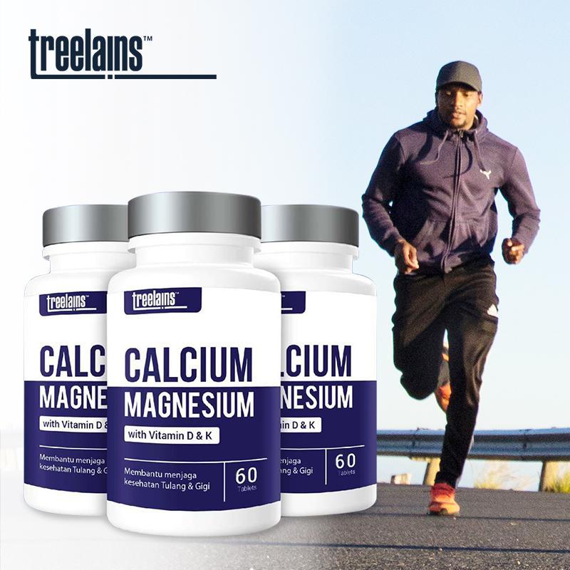 Calcium Magnesium with Vit D & K 60 pcs