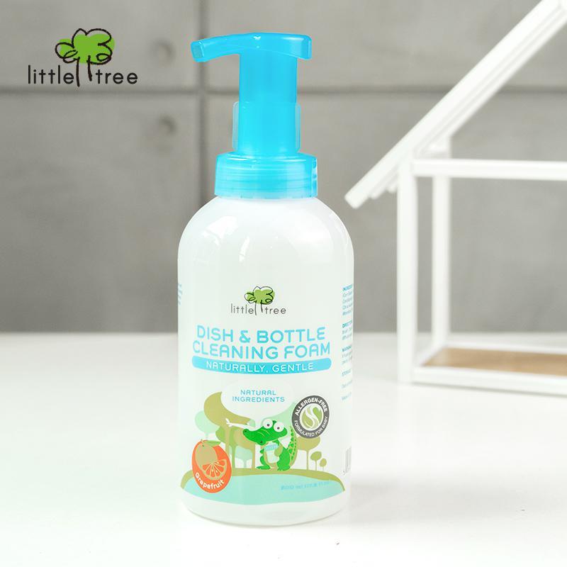 Little Tree Dish & Bottle Cleaning Foam (500ml)
