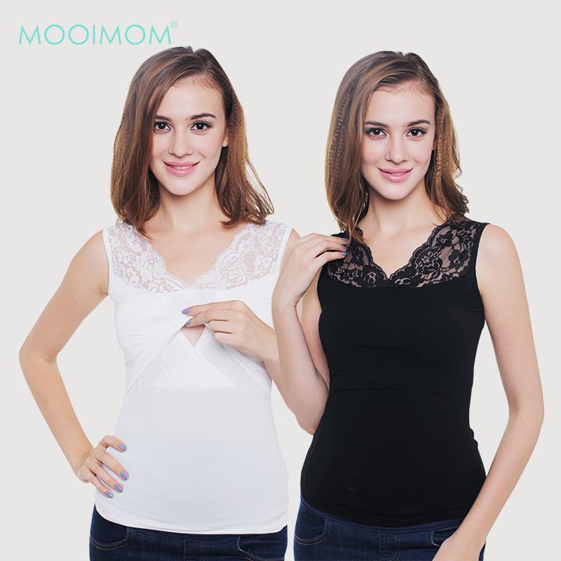 MOOIMOM Lace Vest Nursing Tank