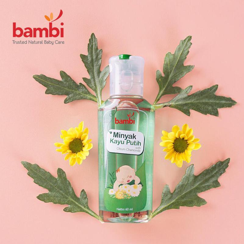 Bambi Cajuput Oil (Minyak Kayu Putih)