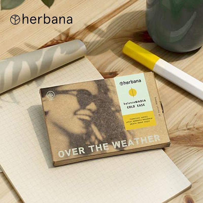 Herbana Balance Madia Cold Ease 10 Tablet
