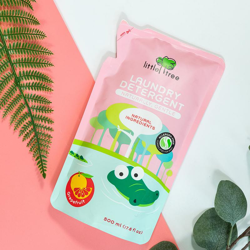Little Tree Baby Laundry Detergent Pouch (Grapefruit)