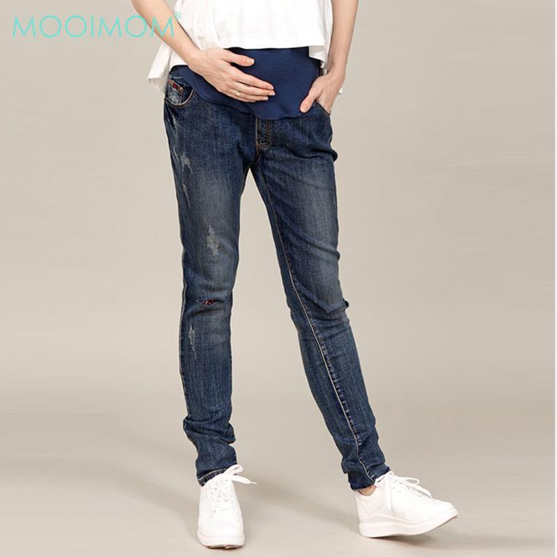 MOOIMOM Maternity Jeans Navy