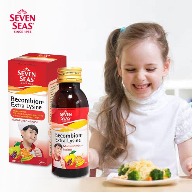 Sevenseas Becombion Syrup Lysine 100 ml