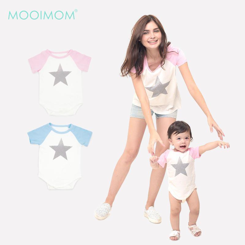 MOOIMOM Star Nursing T - Shirt Couple Set
