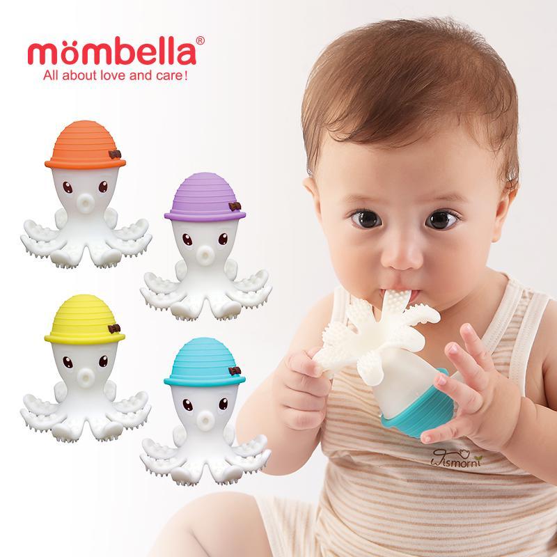 Mombella Octopus Teether Toy Doo