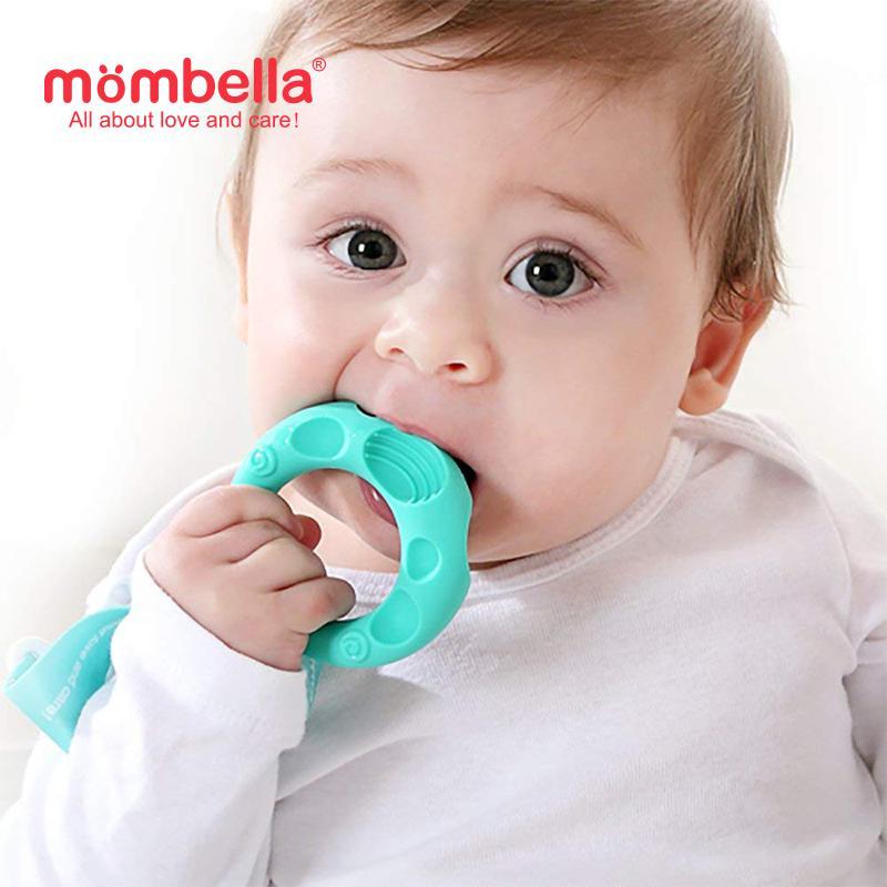 Mombella Educational Geometry Sensory Teether Toy Set Sheep