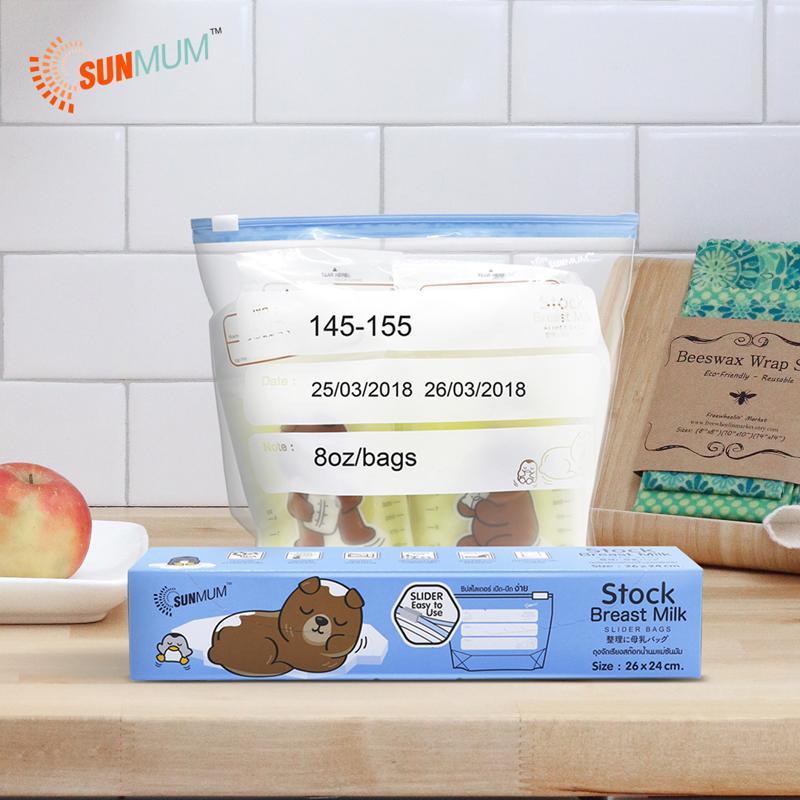 Sunmum Stock Bag For Breastmilk Storage Bag 10P