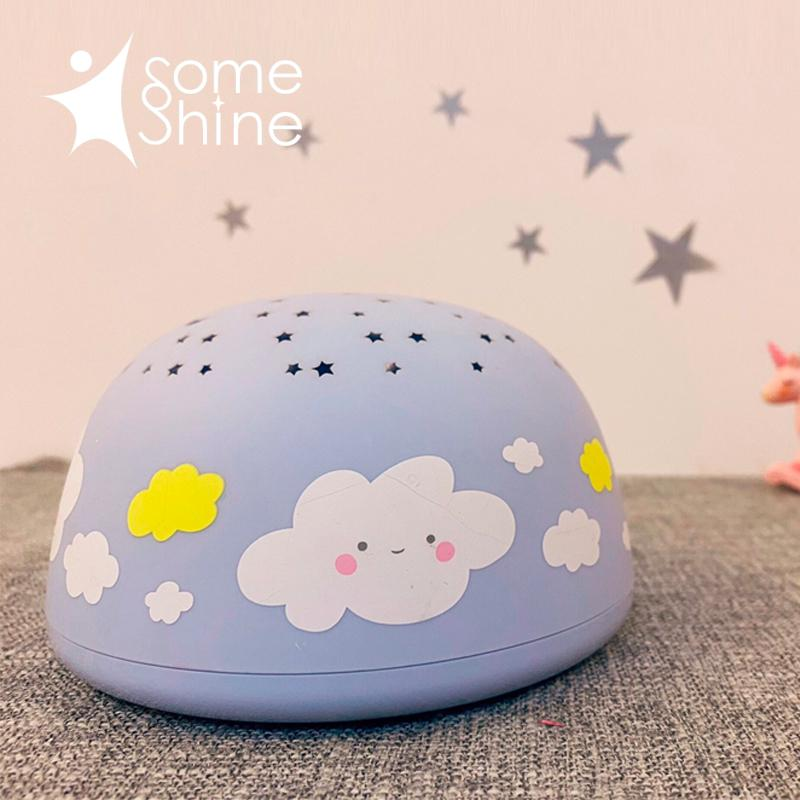 Someshine Music Star Projector Cloud-Blue
