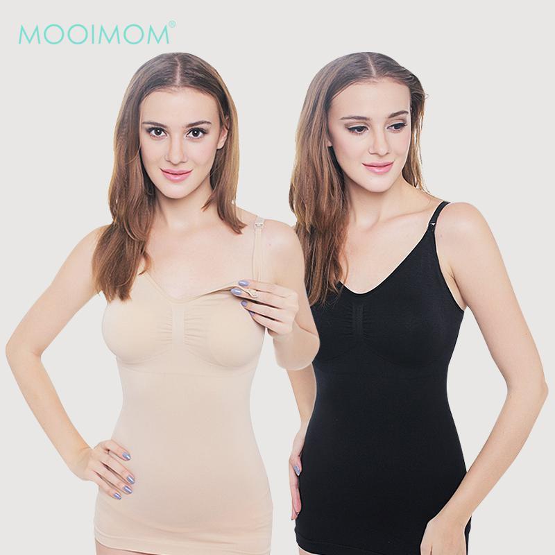 MOOIMOM Seamless Maternity & Nursing Bra Top