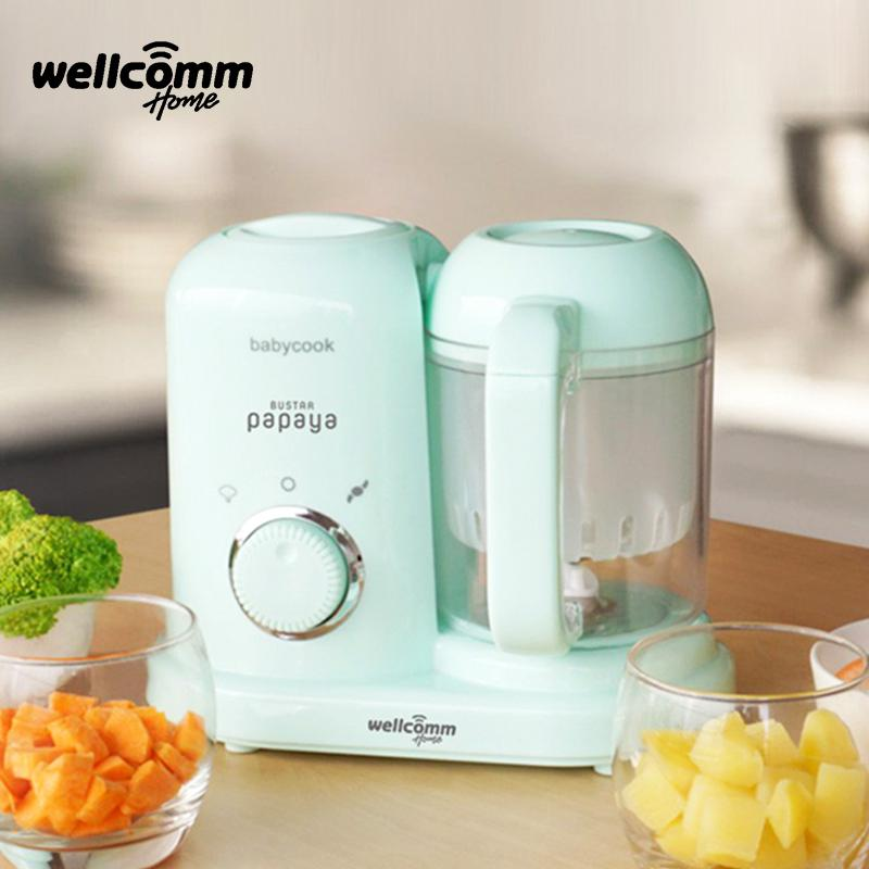 Welcomm Baby Food Maker Welcommhome 4 In 1 Green